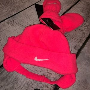 Nike Accessories - NWT Nike Infant Girls Hat & Mittens Set